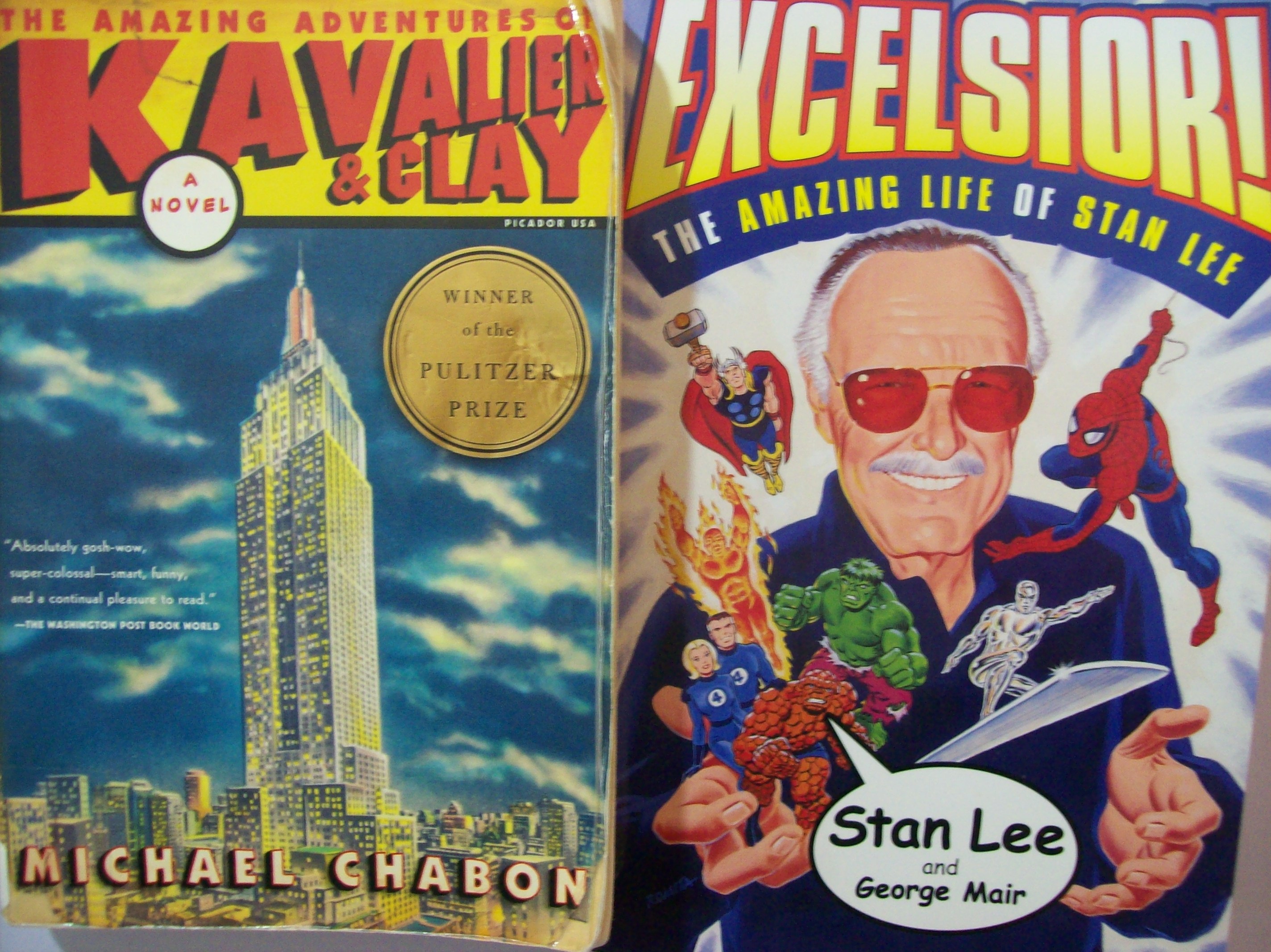 kavalier and clay Winner of the 2001 pulitzer prize for fiction from the author 'wonder boys' 'the amazing adventures of kavalier & clay' is a heart-wrenching story of escape, love and comic-book heroes set in prague, new york and the arctic.