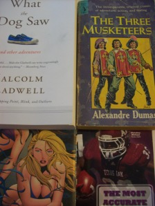The three basic genres (not in order): Fiction, Nonfiction, and Football