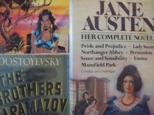 What am I more likely to read?  Jane Austen novels, a Russian classic, or a comic book with pretty pictures?