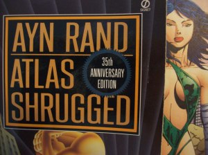 The book report is NOT about Atlas Shrugged.  I promise!