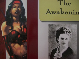 cover of Ultimate Elektra:Devil's Due and cover of The Awakening