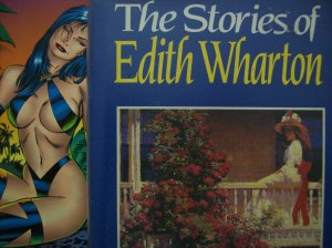 literary girlfriend and Edith Wharton