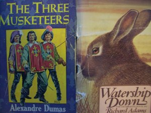 What do these two beat up copies have in common?  I read them.  I finished them.  But did I enjoy them?
