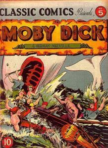 As far as my American Lit professor was concerned, I finished Moby Dick, the book, not the comic. (image via Wikimedia)