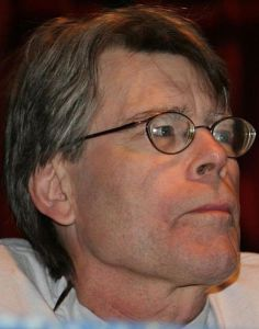 If you're going to criticize Stephen King, don't use any adverbs to do it. (image via Wikimedia)