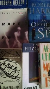 These are all good books, but I've read them, and I'm not in the mood to read them again.